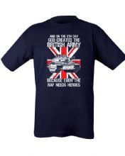 God Created the British Army T-shirt